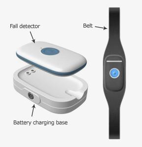 Fall detector sensor